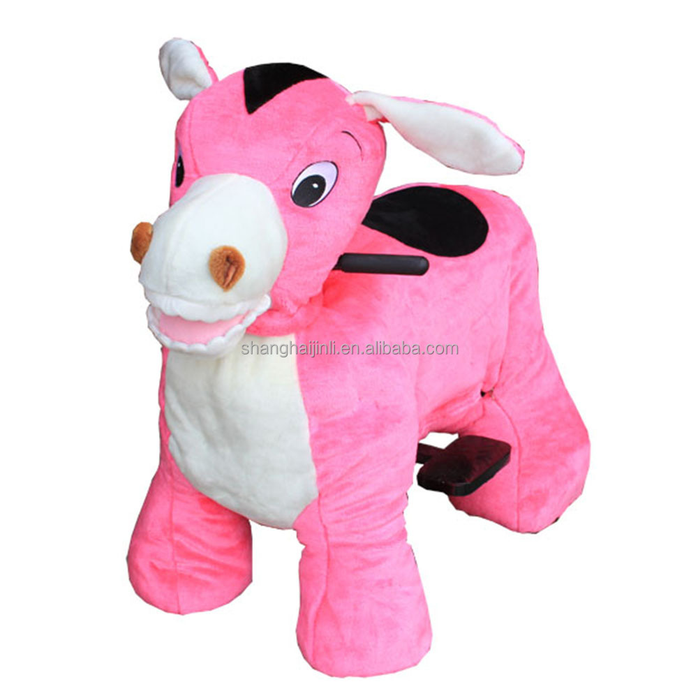 2018 new design plush toys animal rides coin operated <strong>manufacture</strong>