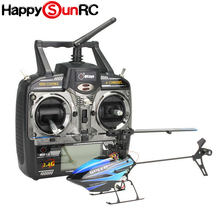 R13452 Single Blade 2.4G Flybarless Gyro RTF 3D RC Helicopter 6CH