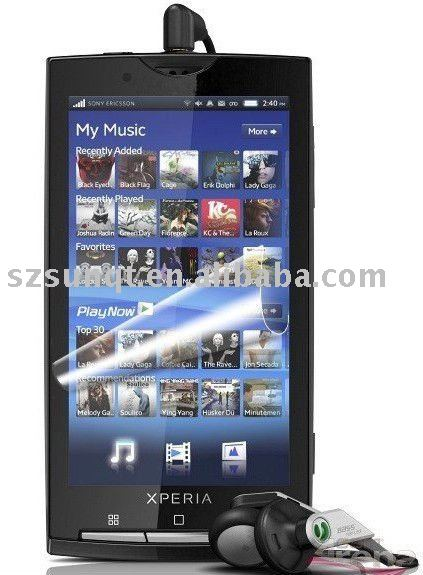 Professional clear Screen protector for Sony Ericsson Xperia X10