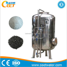 Stainless Steel Mechanical Sand And Carbon Filter Sewage Treatment Plant