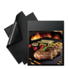 Set of 2 Non-stick silicone BBQ baking grill mat
