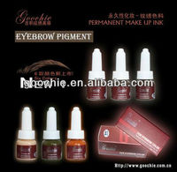 Professional Eyebrow Embroidery Tattoo Cream pigment