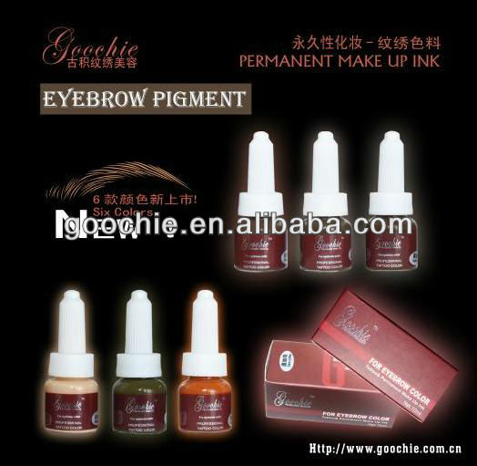 Professional Eyebrow Embroidery Tattoo Permanent Makeup Ink Cream pigment
