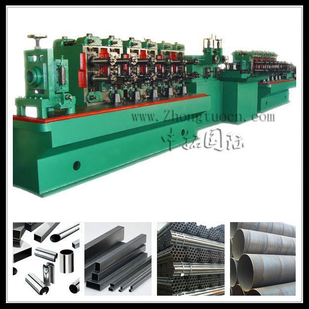 Steel pipe production line ,ss tube welding machine for carbon steel thickness from 0.4 to 4.0mm