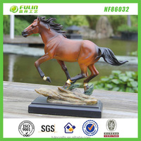 Resin Running Horse Statue For Indoor Decor