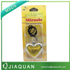 top quality hanging liquid car air freshener , new design hanging air freshener