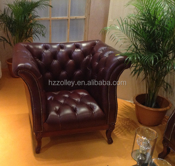Wholesale hot sale used leather sofa victorian furniture hotel bedroom set