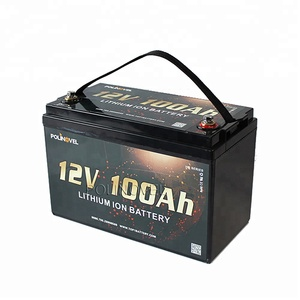 Polinovel Strong Power RV Marine Lifepo4 Lithium Battery 12V 100Ah