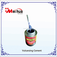 Fast Dry Vulcanizing Cement 1000ml can with Brush Cap