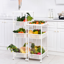 3-Tier Kitchen Storage Shelf Rack For Vegetables and <strong>Fruits</strong>