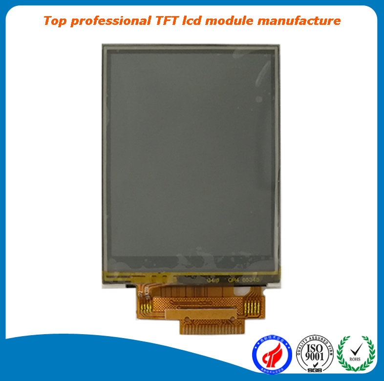 A grade 2.4 inch qvga 240x320 tft lcd ili9341with resistive touch screen