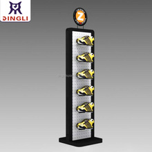Factory OEM/ODM Fashion double side retail sports shoe display stand for brand store use