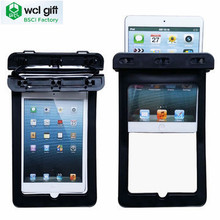 Universal Tablet Cover Waterproof pouch dry bag with Strap for iPad