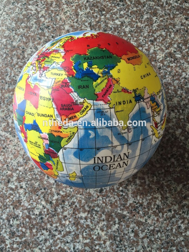 hot sale & high quality stress reliever beach ball with CE certificate