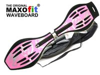 Waveboard MAXOfit XL Lara, max. 95 kg, incl. lighting wheels