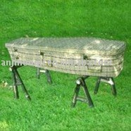 Bamboo coffin