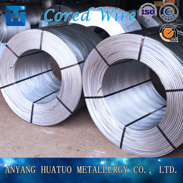 Calcium silicon cored wire/CaSi for steel making