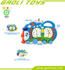 New type multifunction learning machine cartoon mini train with book style toy