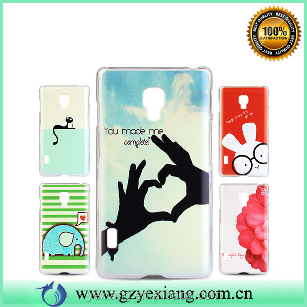 Fashion Design PC Cell Phone Case For LG Optimus L7 II / P710 Cover