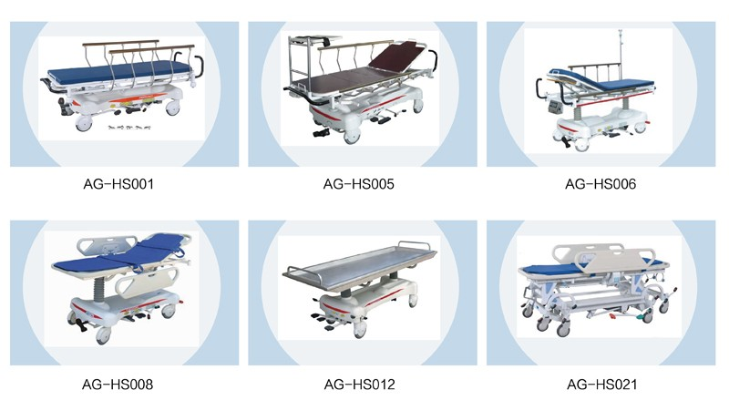 AG-HS002 emergency hospital stretcher dimensions cheap prices