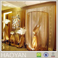 luxury wedding decoration drapes curtains