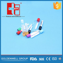 Medical EDTA Plain Vacuum Blood Collection Tube/Vacutainer