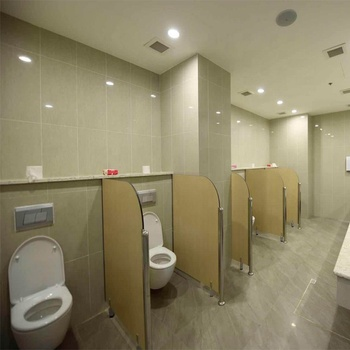 DEBO 12mm phenolic resin panel toilet cubicle children's toilet cubicle for school used