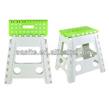 The colour of the stool is assorted folding step stool
