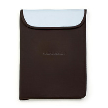 Gradient cheap laptop sleeve with printing