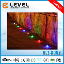 1pc Supper Brightness White/Blue/Green/Yellow/Red LED Polycarbonate Solar LED Ground Light