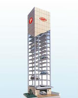 Automated mechanical parking tower system