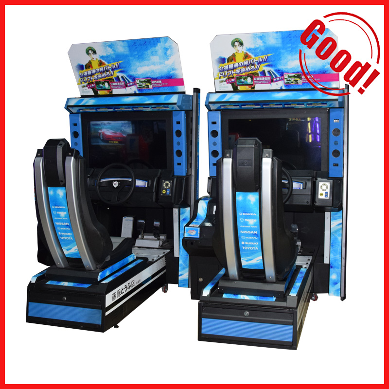 2016 Popular coin operated simulator driving game machine Initial D arcade play car racing video game machine
