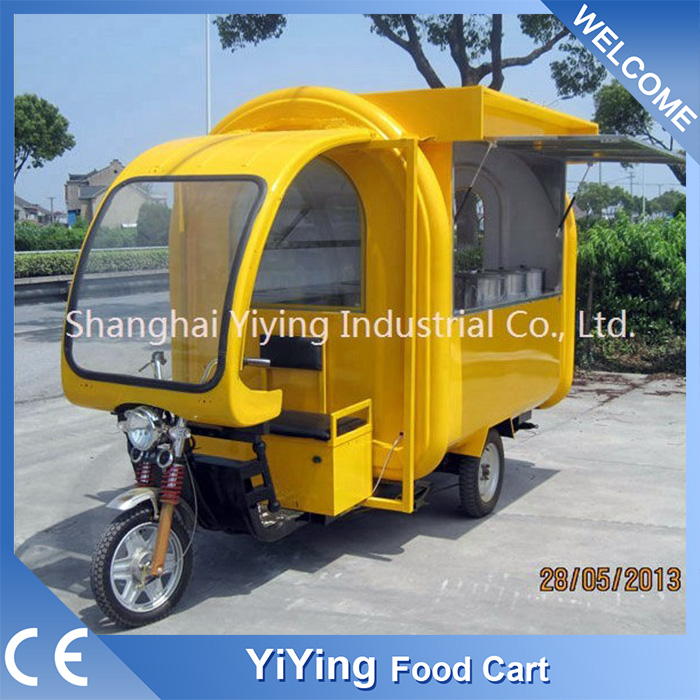 YY-FR220GF Electric ice cream cart tricycle with bicycle