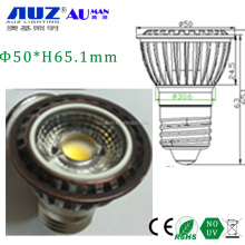 25 - Z straight grain COB lens Cheap price 5W GU10 MR16 E27 E14 led spotlight 4w led spot lamp mr16
