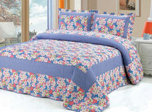 Bridal bed cover quilt/luxury famous brand bedding sets king size