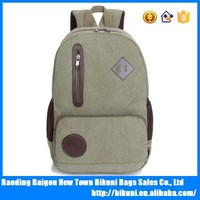 Teens multi-purpose fashion strong canvas backpack 2015 style packback