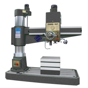Z3050x16/1 Hydraulic 50mm Diameter Hole Radial Arm Metal Drilling Machine