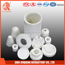 Ceramic fiber forming shapes for industrial oven
