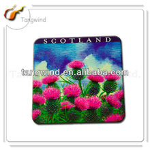 custom design absorbent paper coaster