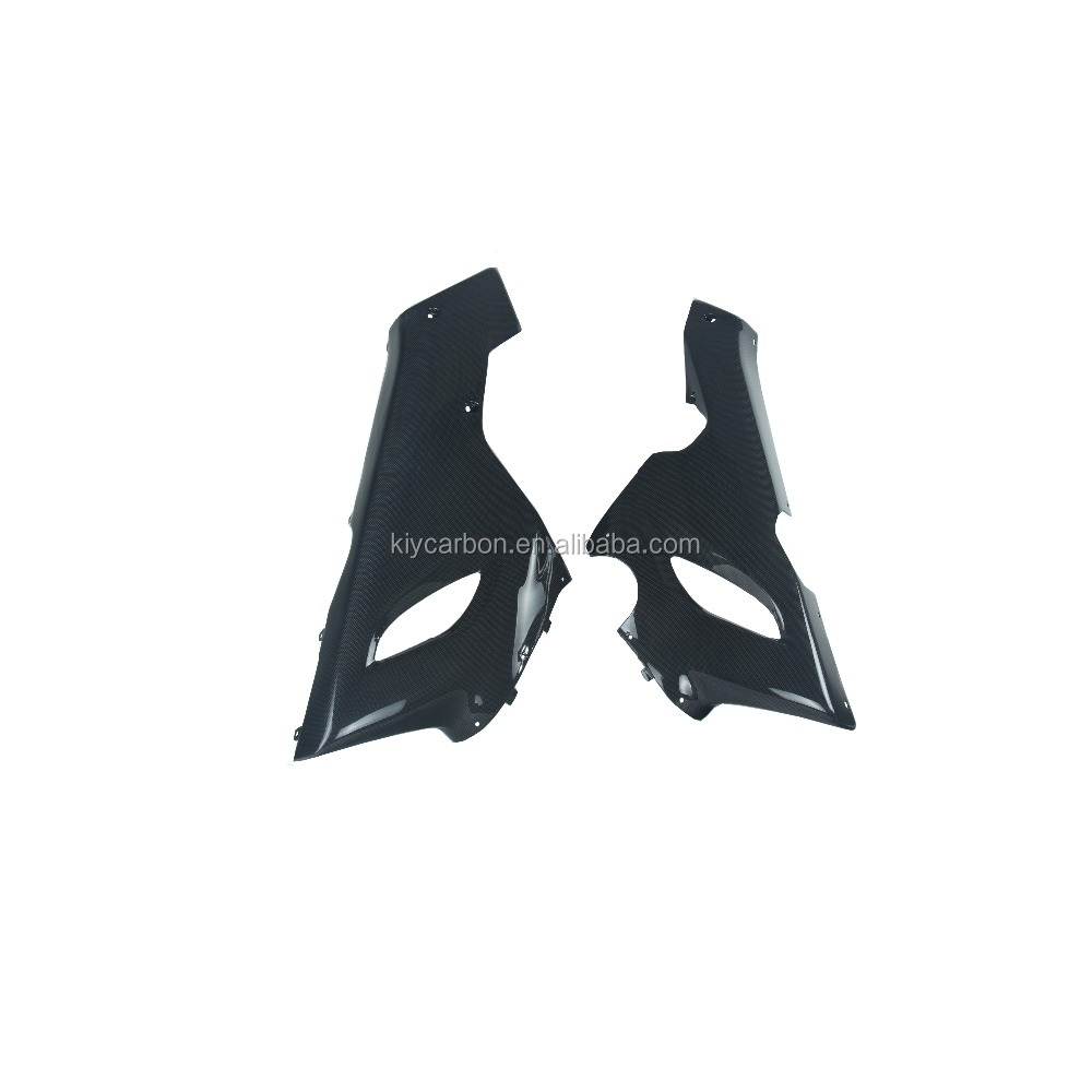 Carbon fiber Kawasaki lower fairings