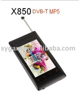HOT! Digital Player with TV tuner mp4 mp5 player smart and fashion touch button SGP-X850
