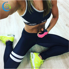 New Design Activewear Women Yoga Pants Sex Sublimation Print Leggings
