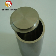 high temperature melting Best sell Zirconium crucibles/cup Zr702