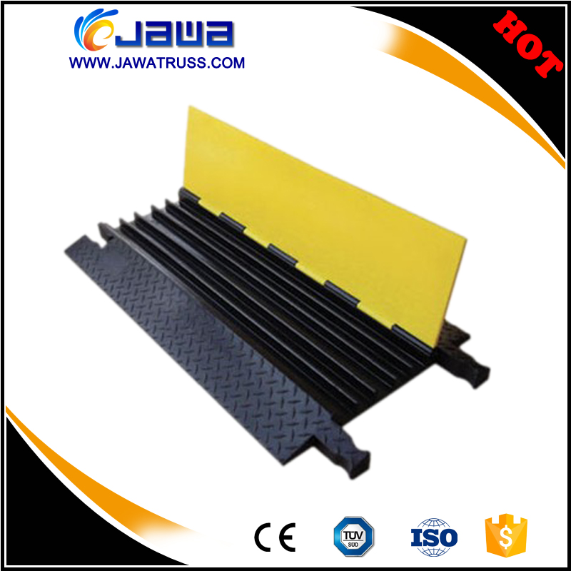 5 channel cable protector/rubber cable protector ramp