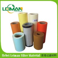 2015 factory good quality wood pulp paper roll for producing air filter in auto engine air intake system