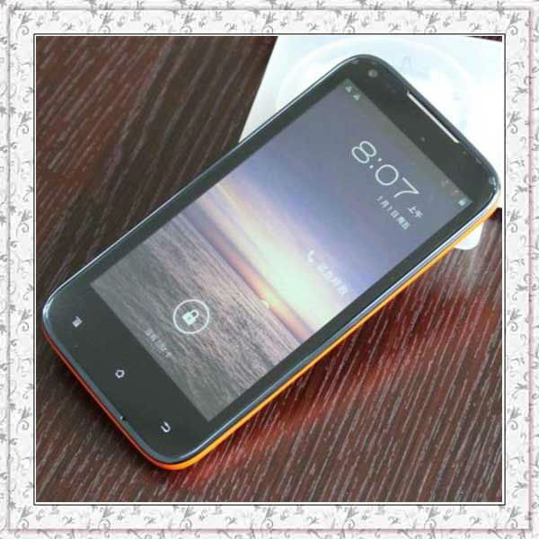 "4.5"" Amoi N821 MTK6577 Dual Core 1GHz Cell phone 4.5inch 960*540 IPS Touch Screen Phone Camera 8.0MP 2050mAh Unlocked"