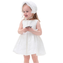 Wholesale Elegant Baby Girl Wedding Party Lace Dress Newborn Infant First Communion Dresses Toddler Gown For Baby Girl