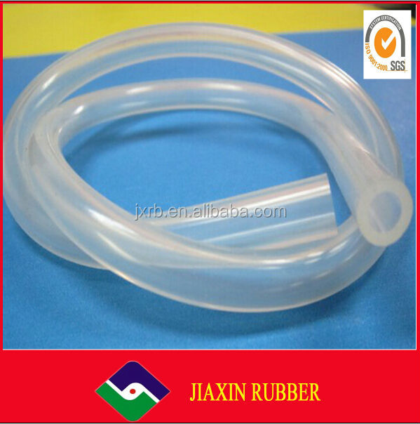 China wholesale hot sale manufacturer Transparent silicone hose with custom logo/silicone air tube
