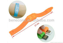 2013 New Product USB Watch Silicon for Kids