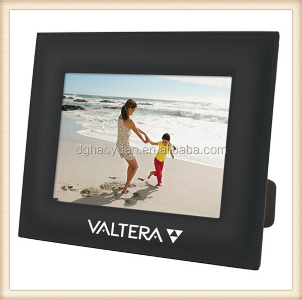 Eco-friendly Leather picture frame with stand